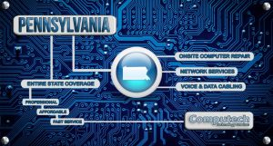 Onsite Computer Repair, Network, Voice and Data Cabling Services in Pennsylvania