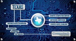 Onsite Computer Repair, Printer, Network & Voice and Data Cabling Services of Texas