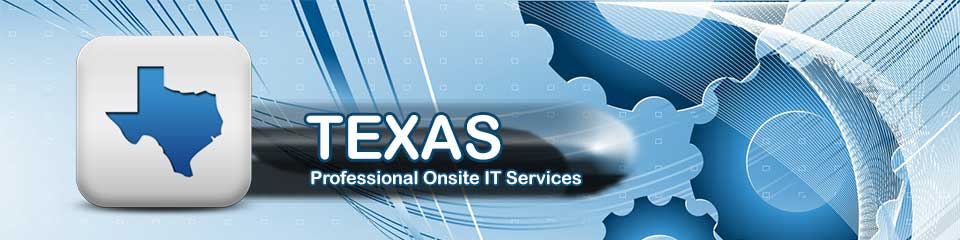 Texas Onsite Computer Repair, Printer, Network & Voice and Data Cabling Services