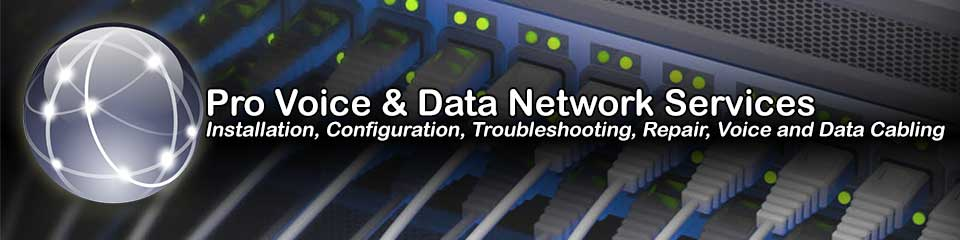 South Carolina Pro Network Installation, Repair and Voice and Data Cabling Services