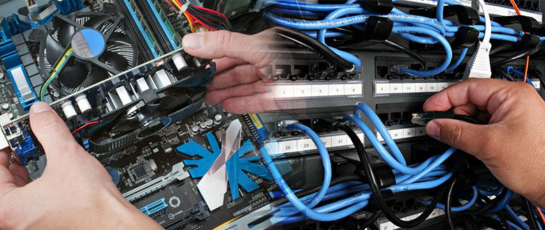 Palm Beach Gardens FL Onsite Computer PC & Printer Repairs, Network Support, & Voice and Data Cabling Services