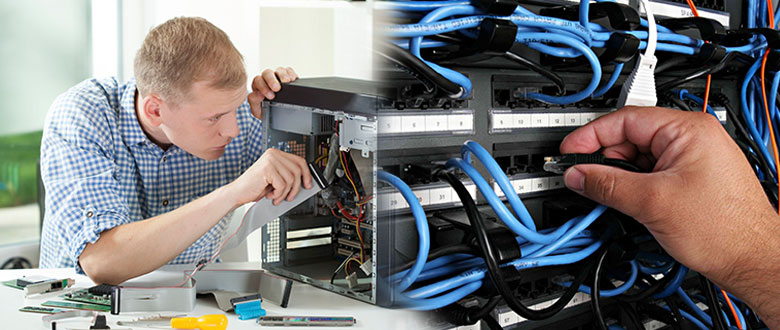 Palm Bay FL Onsite Computer PC & Printer Repairs, Network Support, & Voice and Data Cabling Services