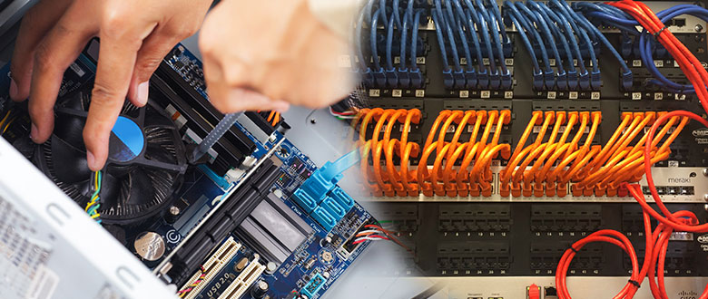 Irving TX Onsite Computer PC & Printer Repairs, Network Support, & Voice and Data Cabling Services