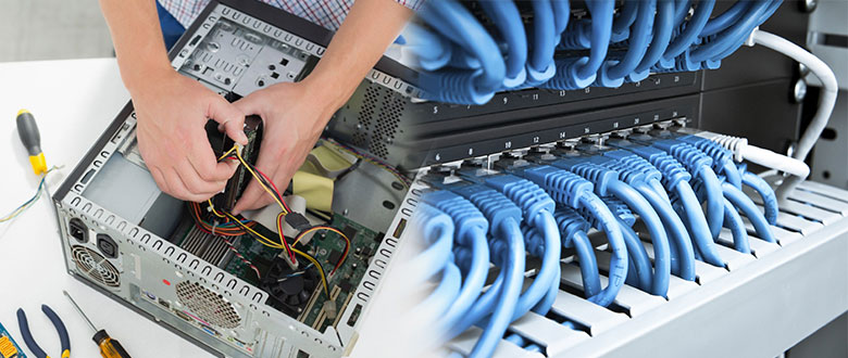 Hebron Indiana Onsite Computer PC & Printer Repairs, Network Support, & Voice and Data Cabling Services