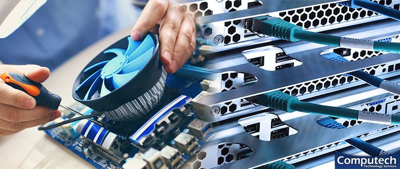 Upland Indiana Onsite Computer PC & Printer Repairs, Network Support, & Voice and Data Cabling Services