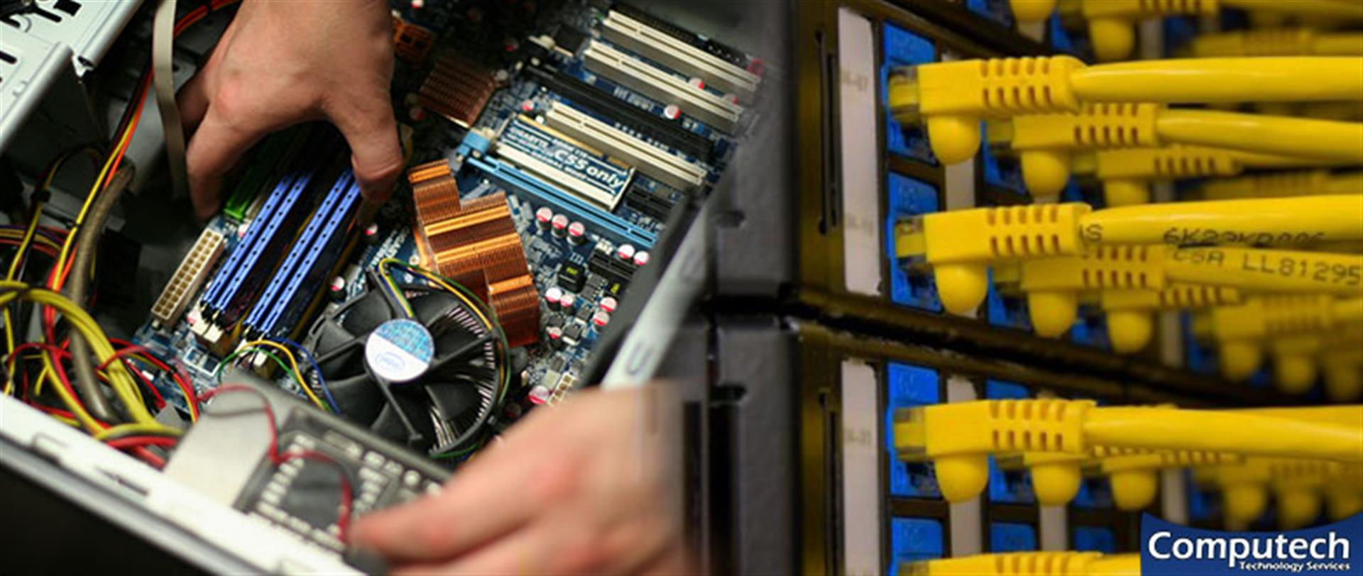 Lawrenceville Georgia On Site PC & Printer Repair, Network, Voice & Data Cabling Contractors