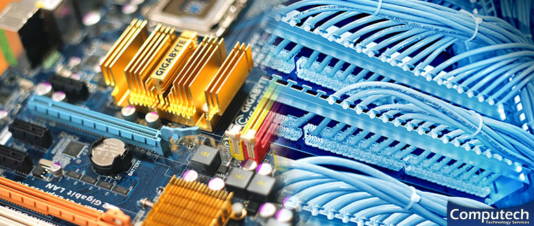 East Peoria Illinois On Site Computer PC & Printer Repairs, Network, Voice & Data Wiring Services