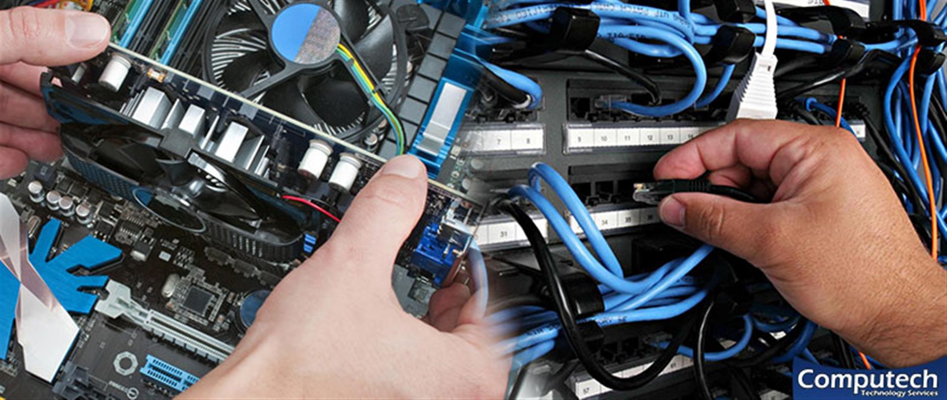 Euharlee Georgia Onsite PC & Printer Repair, Network, Voice & Data Cabling Contractors