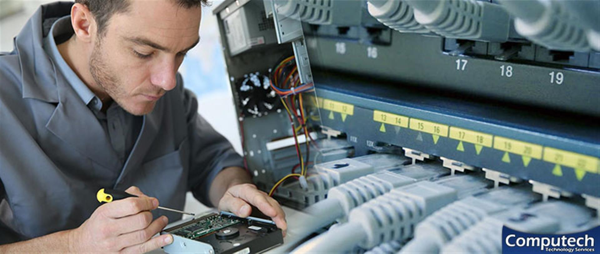 Collierville Tennessee On-Site Computer PC & Printer Repair, Network, Voice & Data Cabling Services