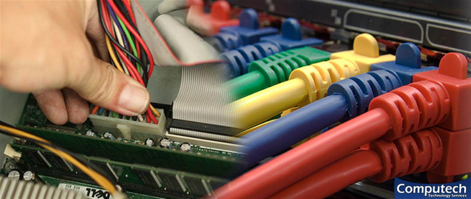 Pulaski Virginia On Site Computer PC & Printer Repairs, Networks, Voice & Data Cabling Services